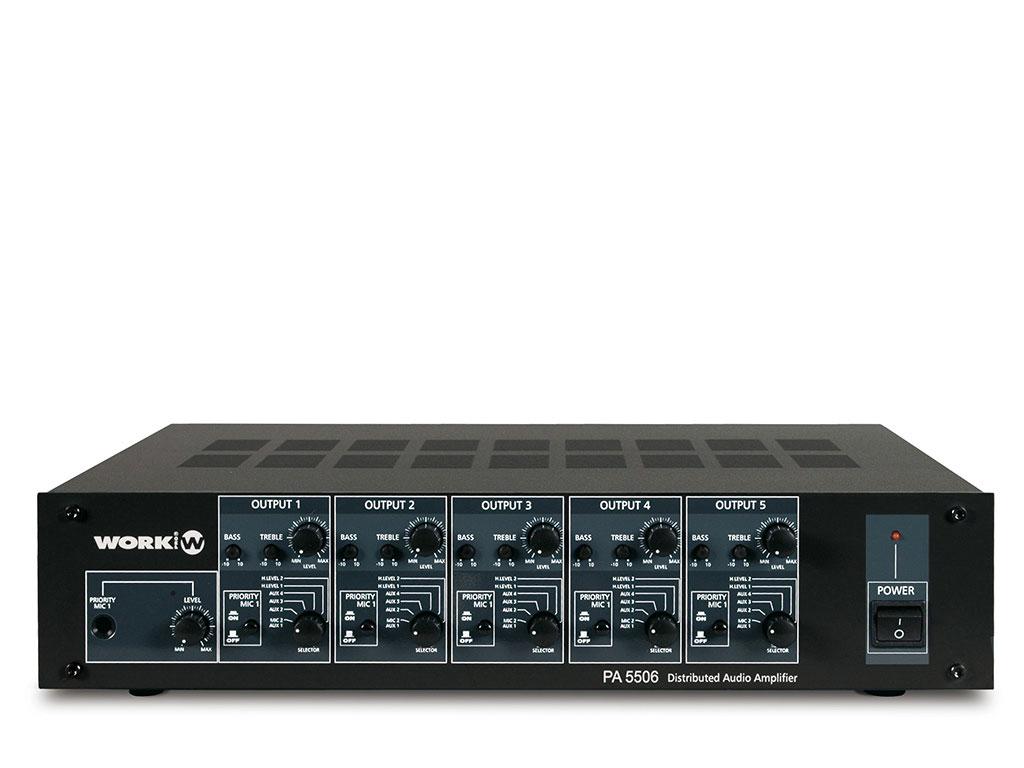 PA5506 Multizone amplifier Image
