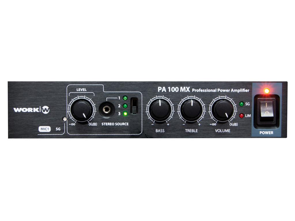 PA 100 MX Amplifier Image