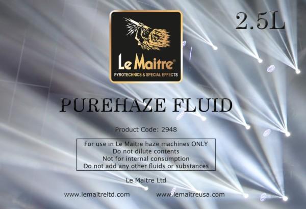 Purehaze Fluid 2.5L LE Maitre UK Image