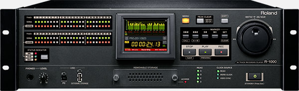 R-1000 48-Track Recorder/Player Image