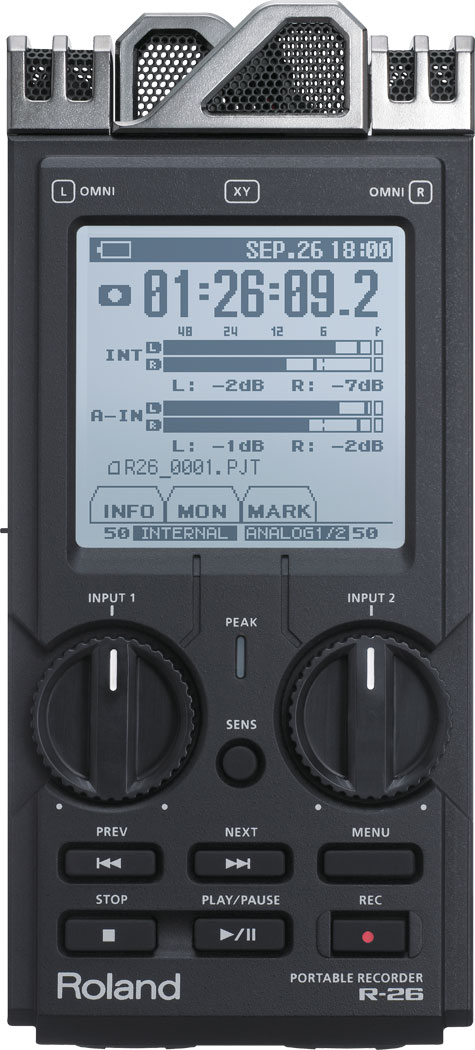 R-26 Portable Recorder Image