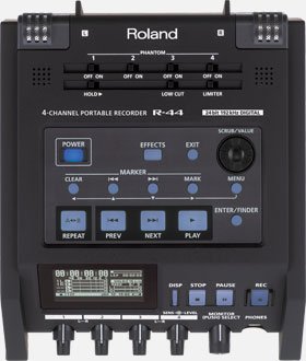 R-44 4-Channel Portable Recorder Image