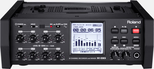 R-88 8-Channel Recorder and Mixer Image