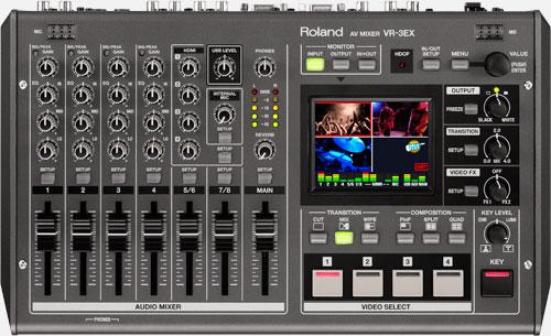 VR-3EX AV web streaming Mixer Image
