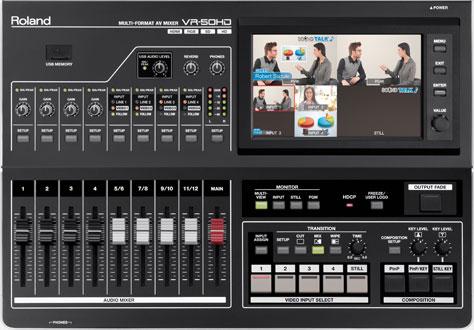 VR-50HD Multi-Format AV Mixer Image