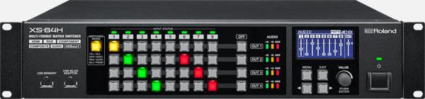 XS-84H 8 IN 4 Out AV Matrix Switcher Image
